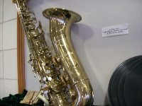 Detail of Al Sears' Saxophone